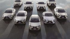 Lexus 2 Milyon Elektrik Motorlu Araç Satışıyla Global Bir Başarıya İmza Attı