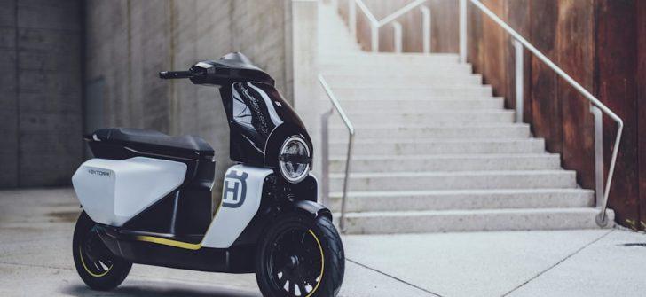 Husqvarna Vektorr elektrikli scooter