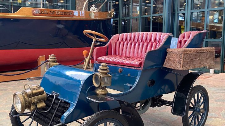 Tarih yazan Cadillac, Rahmi M. Koç Müzesi'nde