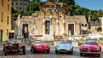 Efsane Yarış Mille Miglia, Alfa Romeo'nun Zaferiyle Sonuçlandı