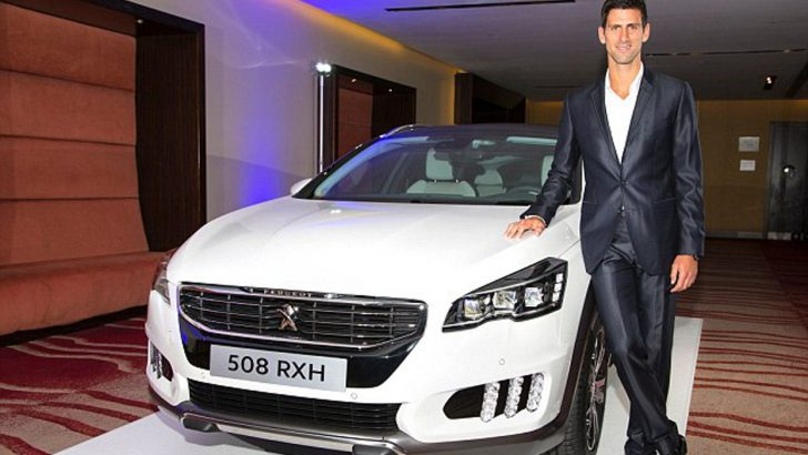 PEUGEOT'nun uluslararası marka elçisi Novak Djokovic oldu.