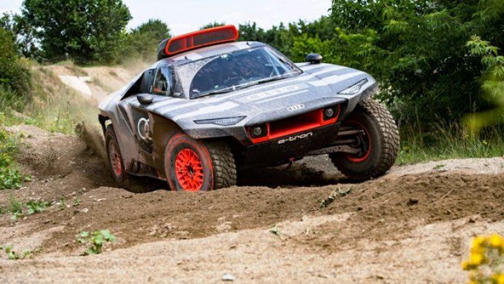 Dakar Rallisi'nde sahne alacak Audi RS Q e-tron'un testlerine başlanıyor