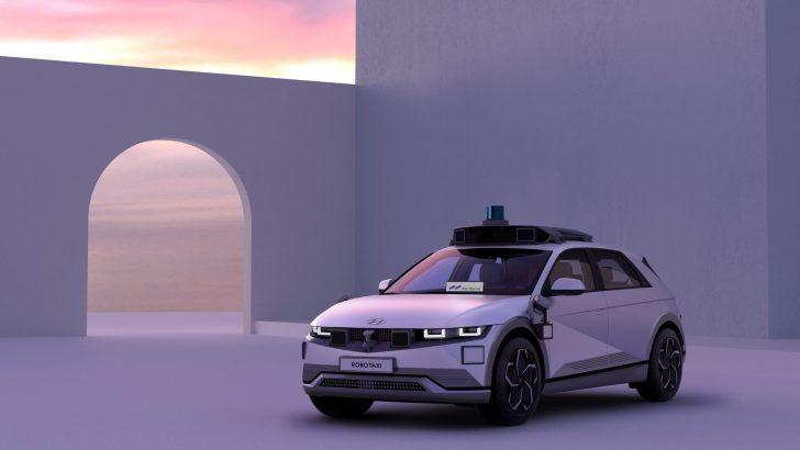 Hyundai ve Motional IONIQ 5 Robotaxi'yi Geliştirdi.